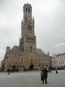 Campanário de Bruges - um dos símbolos da cidade