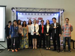 Alunos e Professores da Levain presentes no evento